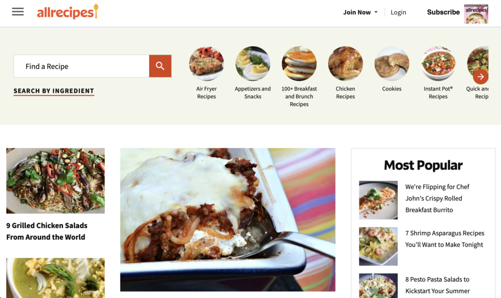 cooking recipes online download all recipes