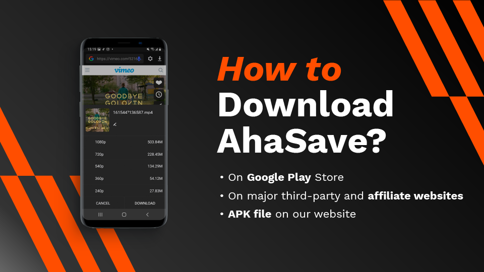 Download TED videos with AhaSave